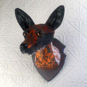 Fox Faux Taxidermy
